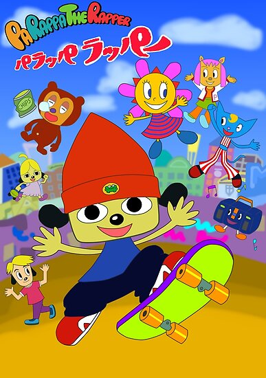 Quot Parappa The Rapper Anime Poster Quot Poster By Assassinhedgie