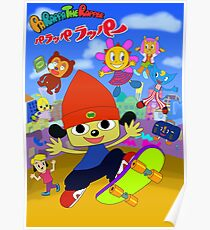 Parappa The Rapper Anime Poster Poster