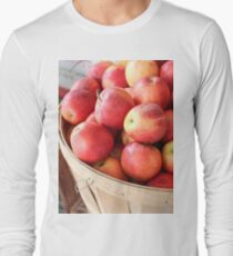 An apple a day Long Sleeve T-Shirt