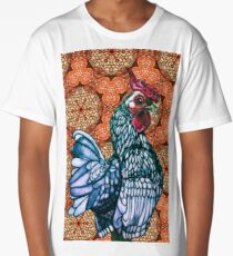 The Funky Chicken. Long T-Shirt