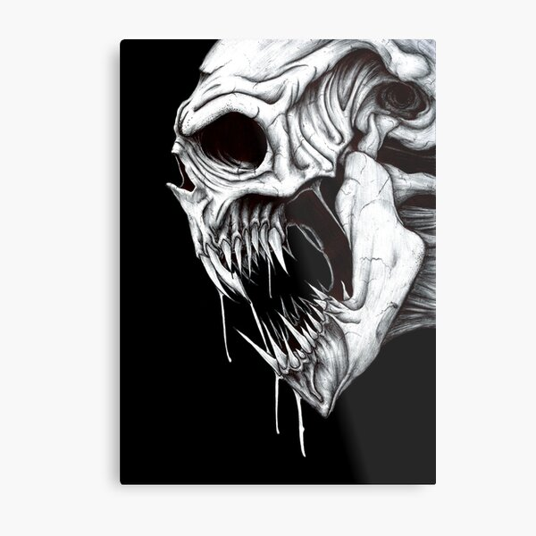Grim Reaper Metal Print