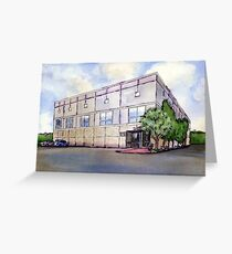 The Office Dunder Mifflin Painting Greeting Card