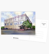 The Office Dunder Mifflin Painting Postcards