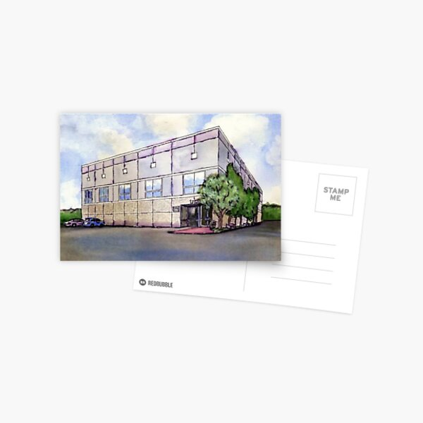La pintura de la oficina Dunder Mifflin Postal
