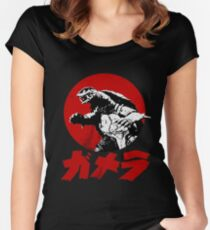 Gamera Women's Fitted Scoop T-Shirt