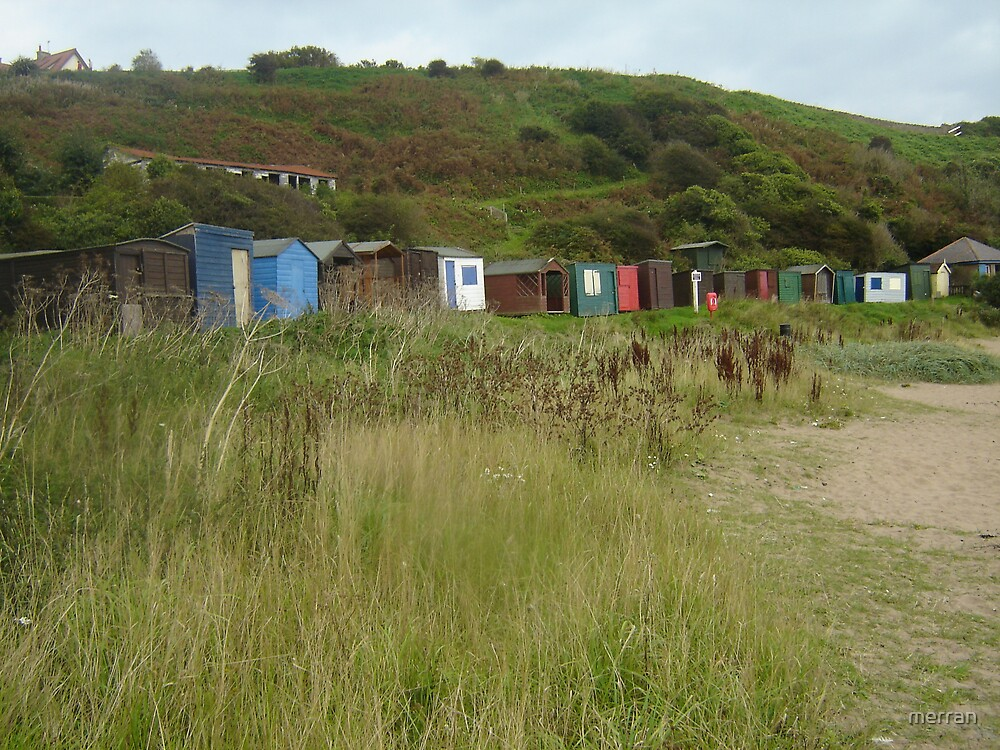 Lots and Lots of Beach Huts by merran