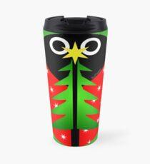 Bah, the Christmas Bug Travel Mug