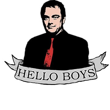 Crowley - Hello boys with banner by brostephhhx