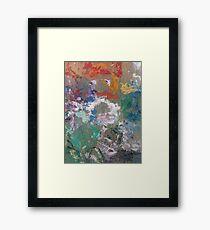 Artists Work Framed Print