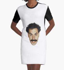 Borat - Head Graphic T-Shirt Dress