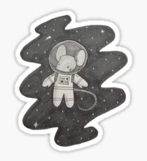 Space Mouse Sticker