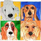 Four Dogs by wildalive