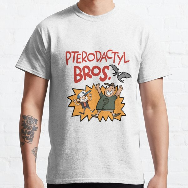 Pterodactyl Bros - Full Color Classic T-Shirt