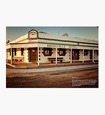 The Iconic Birdsville Hotel Photographic Print