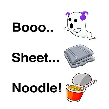 BOO SHEET NOODLE by VIndustries