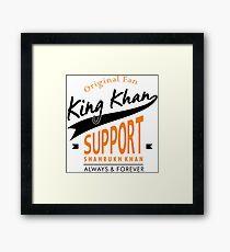 King Khan - Shahrukh Khan Framed Print