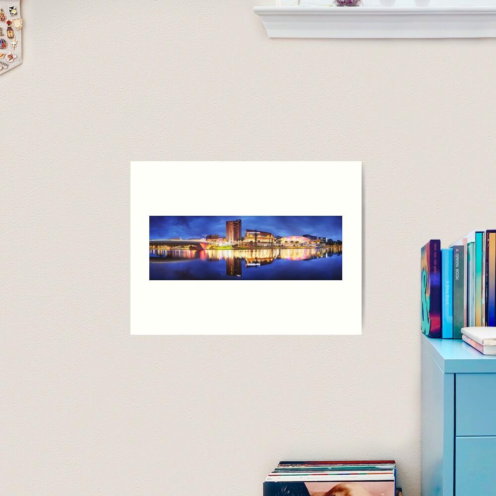 Adelaide Riverbank, South Australia Art Print