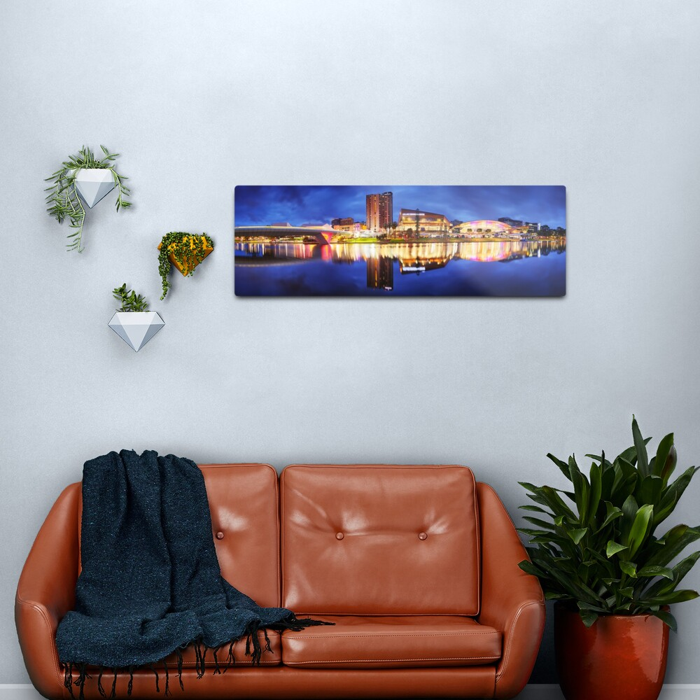 Adelaide Riverbank, South Australia Metal Print