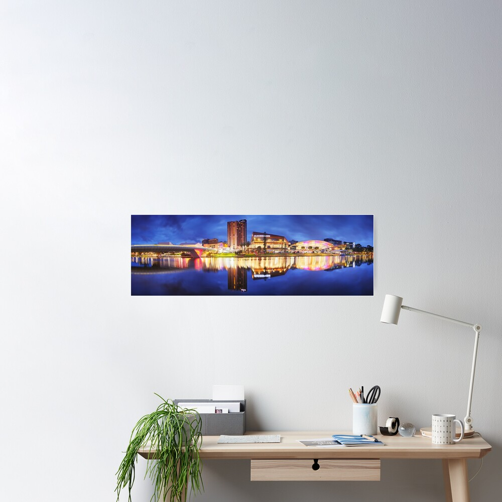 Adelaide Riverbank, South Australia Poster