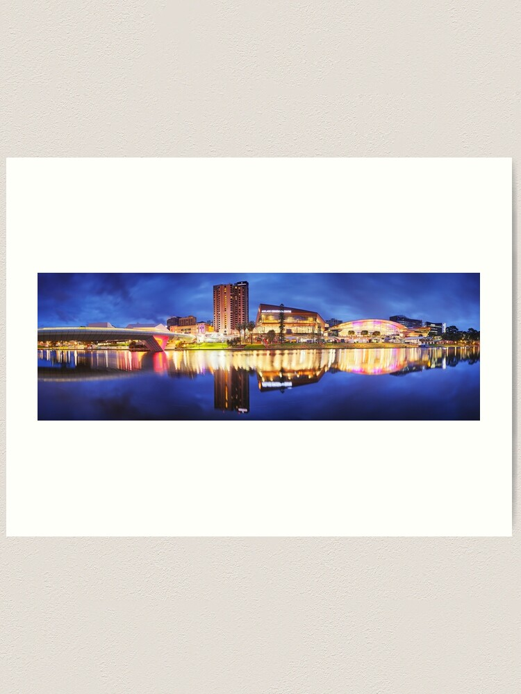 Alternate view of Adelaide Riverbank, South Australia Art Print