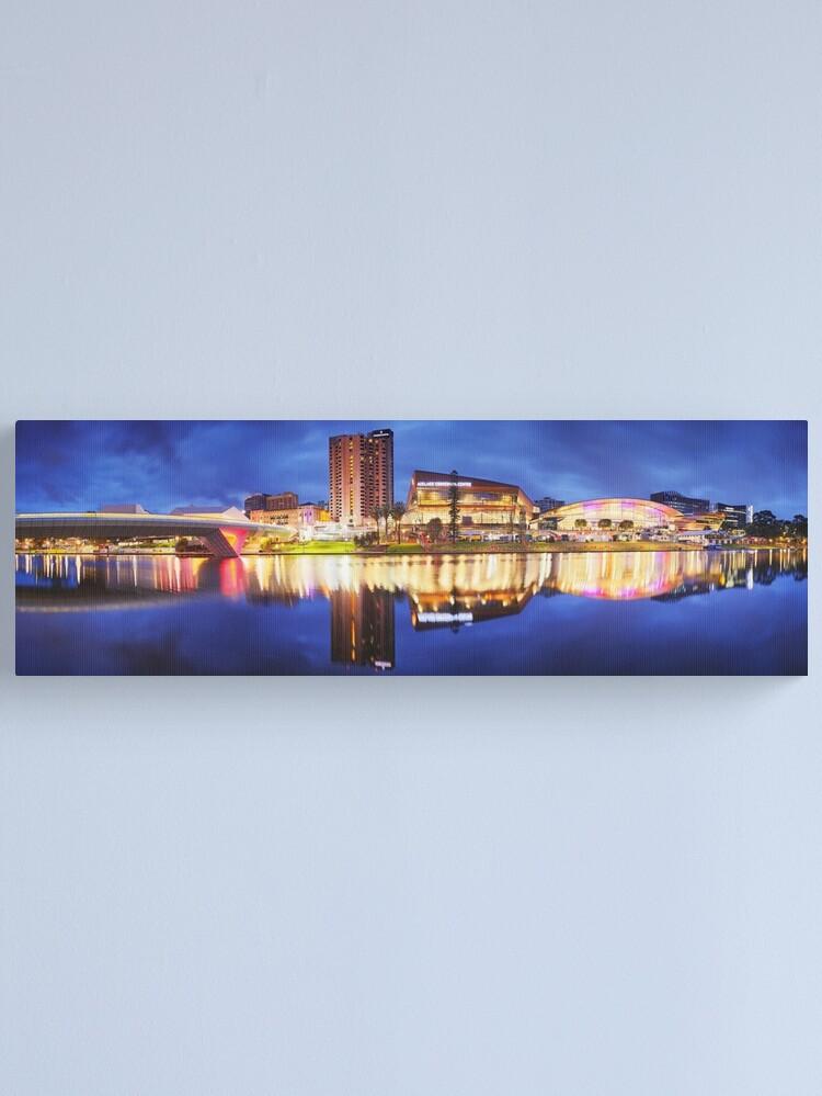 Alternate view of Adelaide Riverbank, South Australia Canvas Print