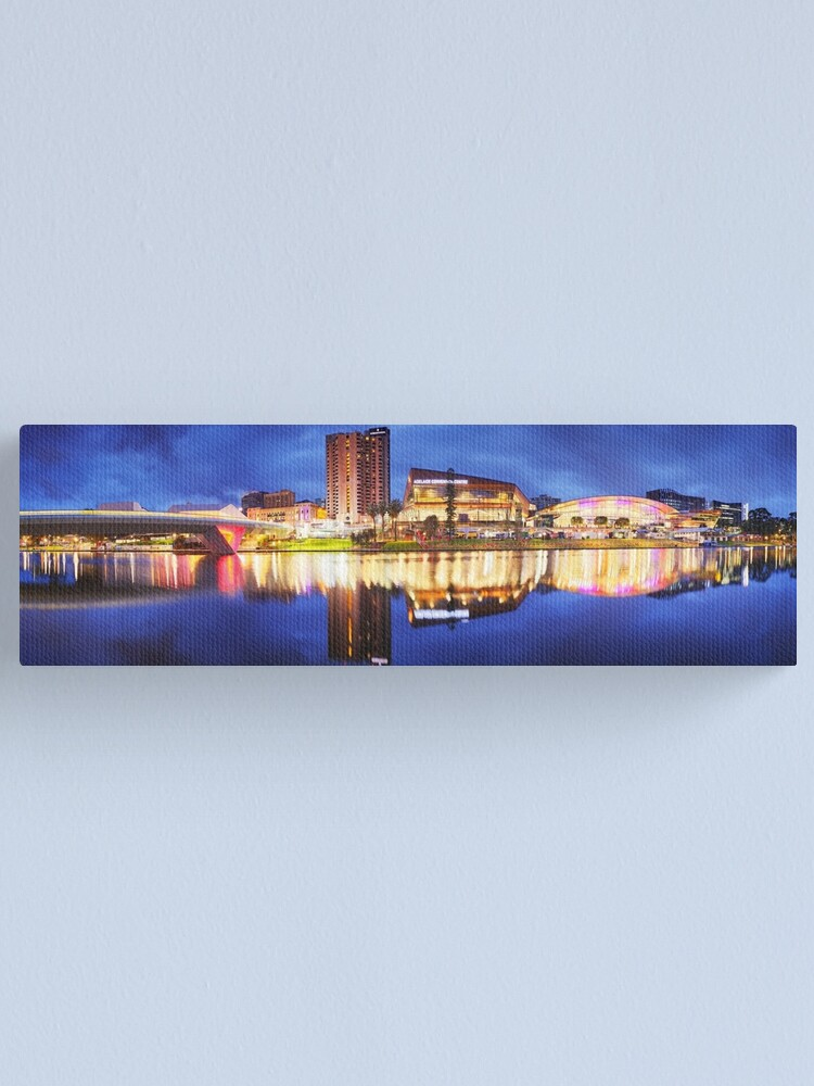 Alternate view of Adelaide Riverbank, South Australia Canvas Print