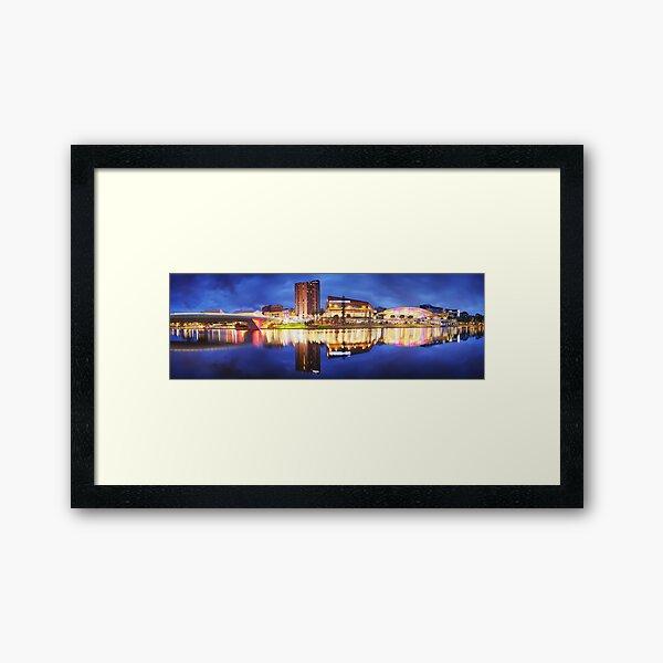 Adelaide Riverbank, South Australia Framed Art Print