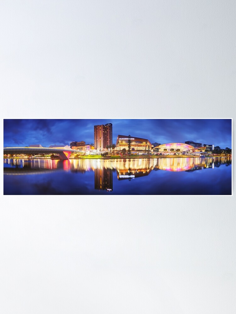 Alternate view of Adelaide Riverbank, South Australia Poster