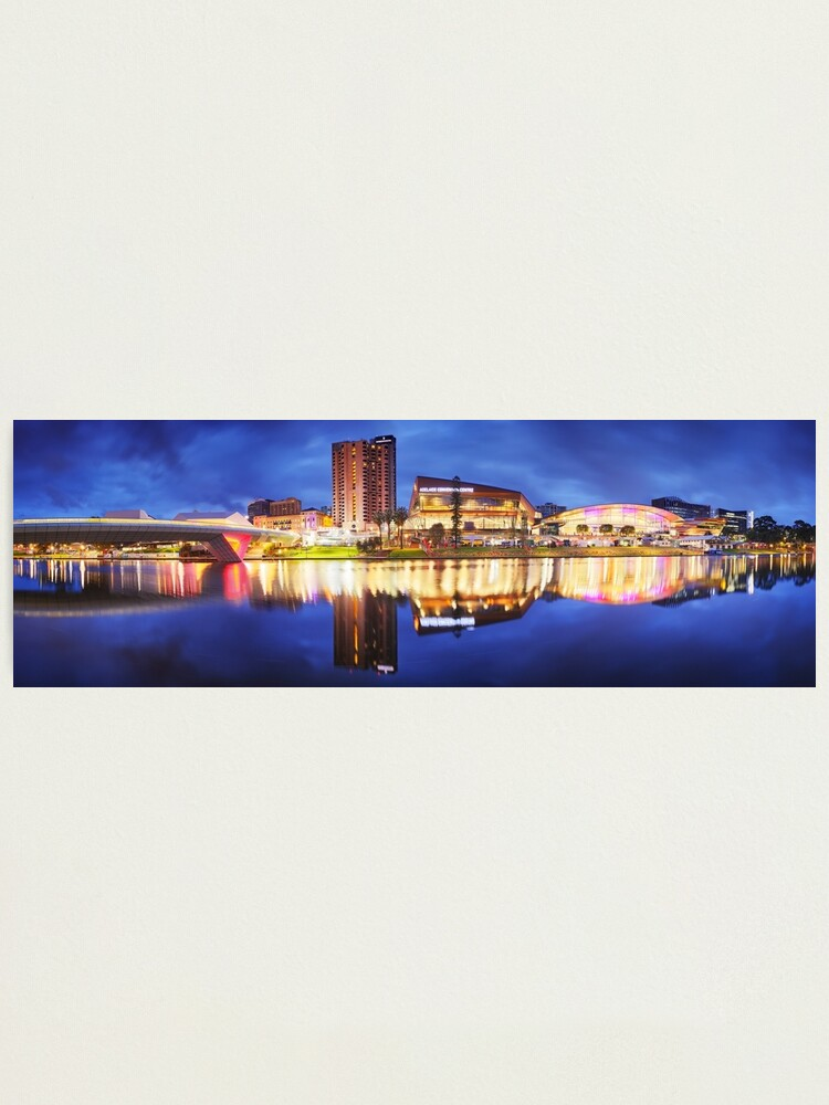 Alternate view of Adelaide Riverbank, South Australia Photographic Print