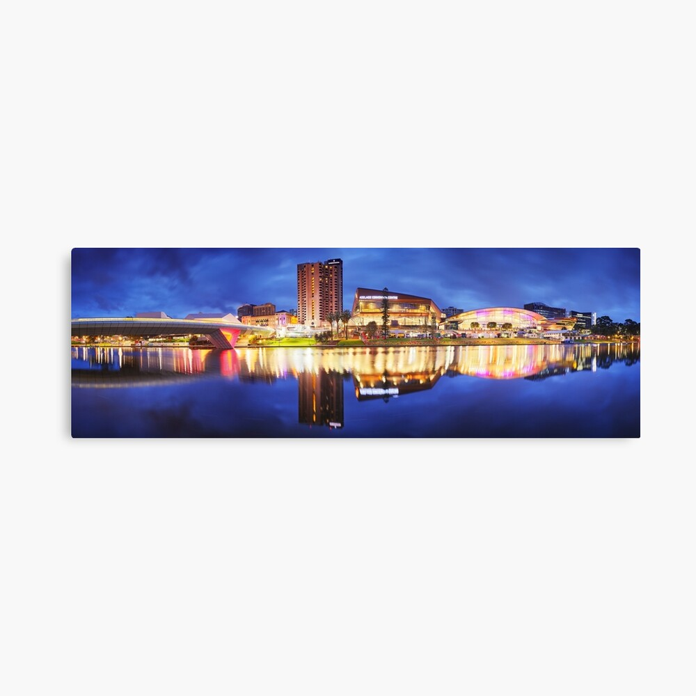 Adelaide Riverbank, South Australia Canvas Print