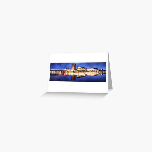 Adelaide Riverbank, South Australia Greeting Card