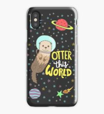 Otter This World iPhone Case/Skin