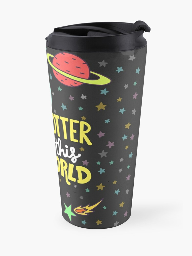 Alternate view of Otter This World Travel Mug