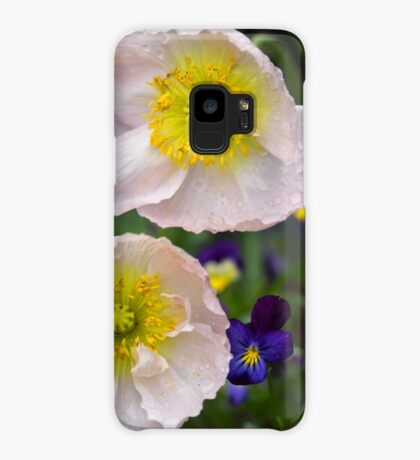 Poppies come in Twos Case/Skin for Samsung Galaxy