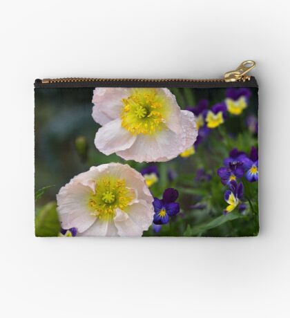 Poppies come in Twos Studio Pouch