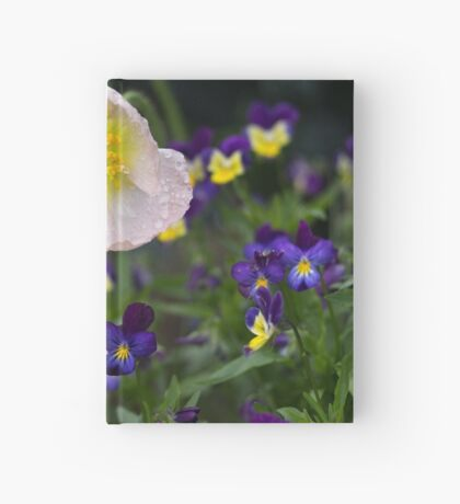 Poppies come in Twos Hardcover Journal