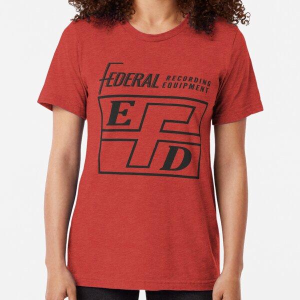 Federal Recording Equipment - Black Tri-blend T-Shirt