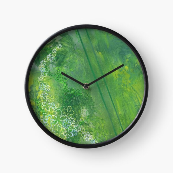 It's Not Easy Being Green Clock