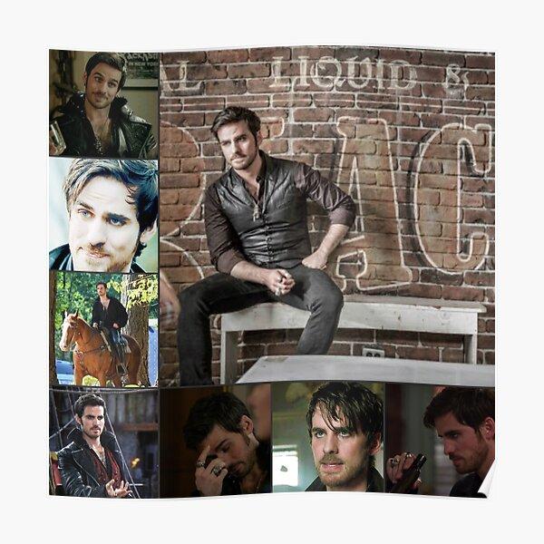 Captain Killian {Hook} Jones Love 13 Poster