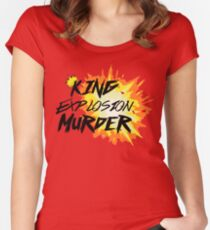 King explosion murder - BNHA Women's Fitted Scoop T-Shirt