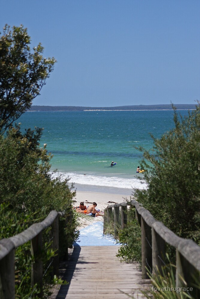 Callala Beach by lovethrugrace