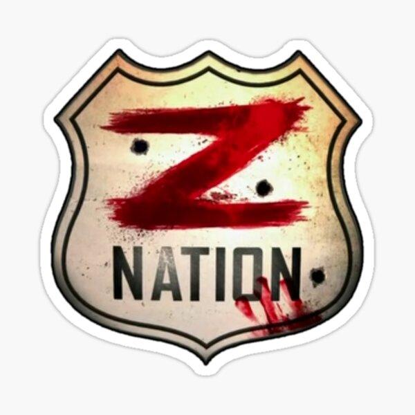 Z nación Pegatina
