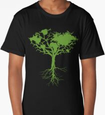 Earth Tree Long T-Shirt