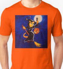 Night Witch Cat T-Shirt