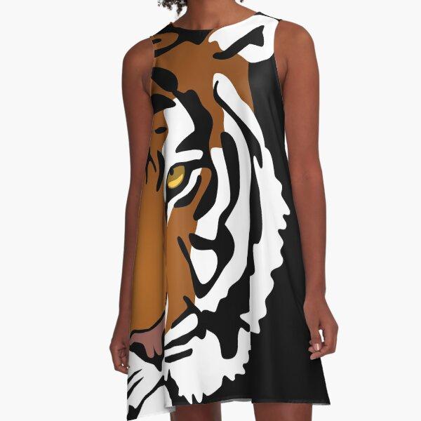 Tiger's Eye A-Line Dress