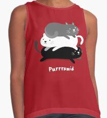 Purrramid - Cats Contrast Tank