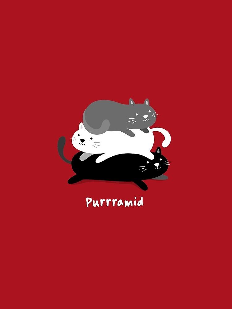Purrramid - Cats by blushingcrow