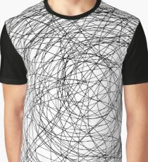 """""""hair"""" Apple Pencil drawing Graphic T-Shirt"""