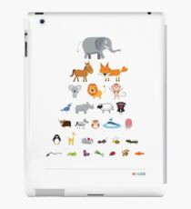 Animal Eye Test iPad Case/Skin