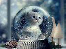 Christmas Kitten by © Kira Bodensted